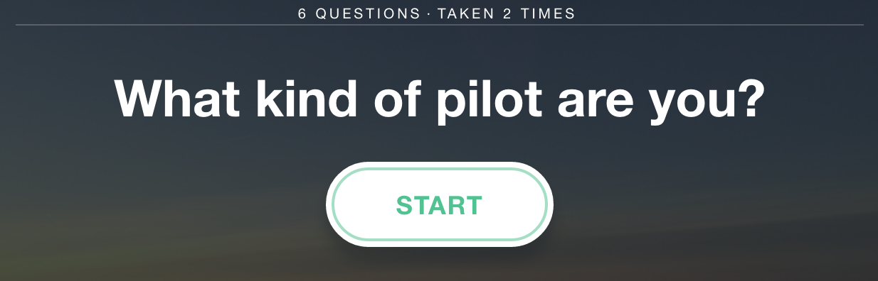 what kind of pilot are you