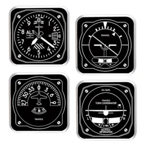 Artificial Horizon Coasters
