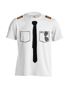 original pilot uniform t-shirt