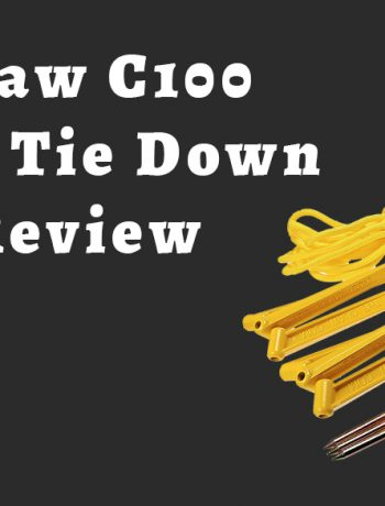 the claw c100 aircraft tie down review